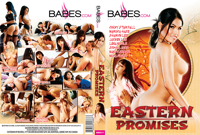 Eastern Promises cover starring Cindy Starfall