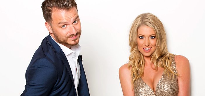 Dapper Laughs & Lexi Lowe co-host Paul Raymond Awards