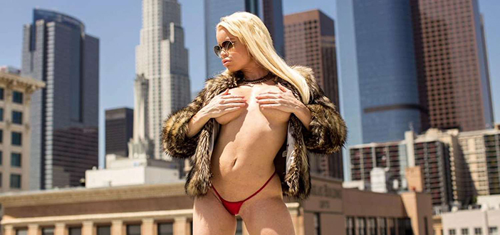Nikki Delano in NYC for media blitz