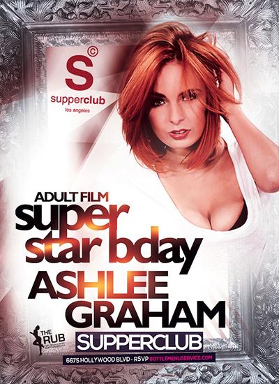 Ashlee Graham's Birthday poster
