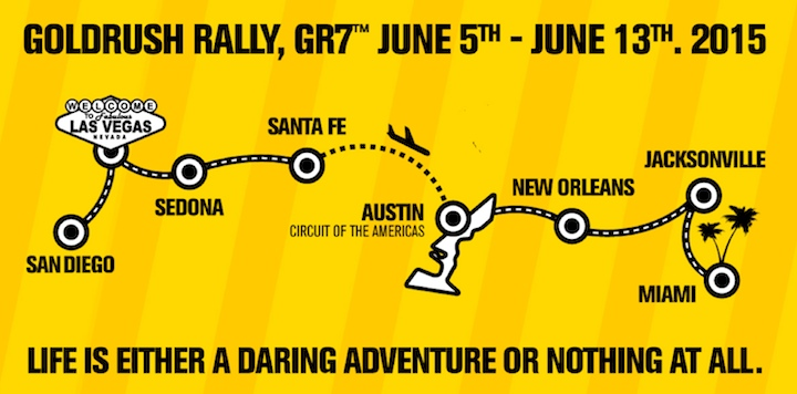goldRush Rally 2015