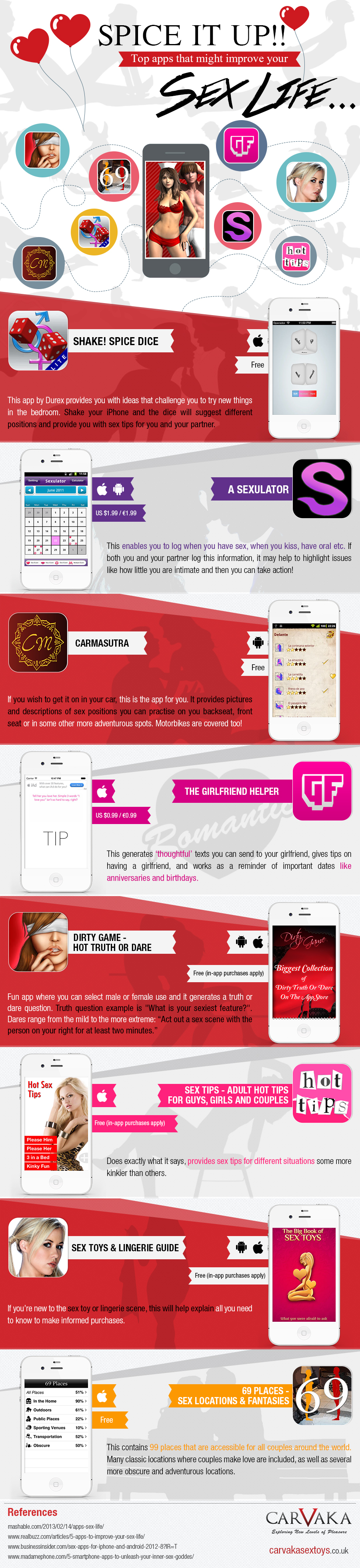 Apps to Improve Your Love Life! – An Infographic