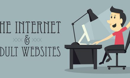 The Internet and adult websites infographic