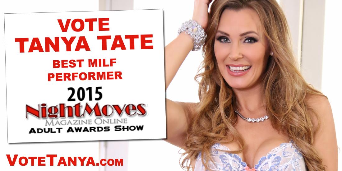 Tanya Tate, Nightmoves, Best MILF Performer, XXX, Pornstar, Nomination, #VoteTanya, MILF, Cougar