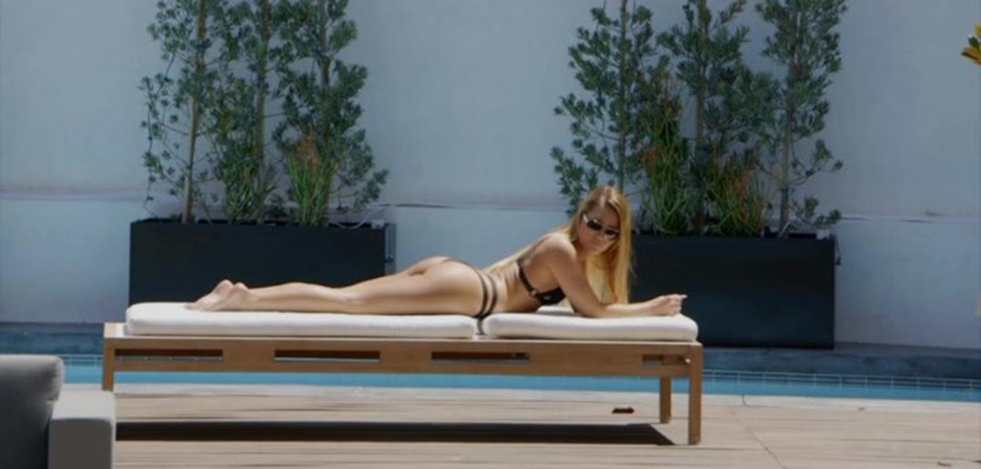 Abby Cross in a bikini
