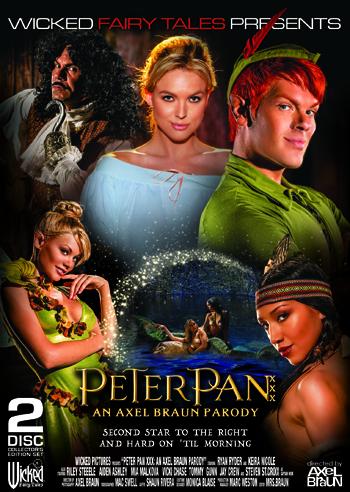 Peter Pan XXX: An Axel Braun Parody DVD cover
