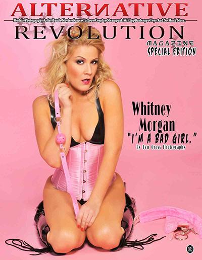 Whitney Morgan on cover of Alternative Revolution Magazine