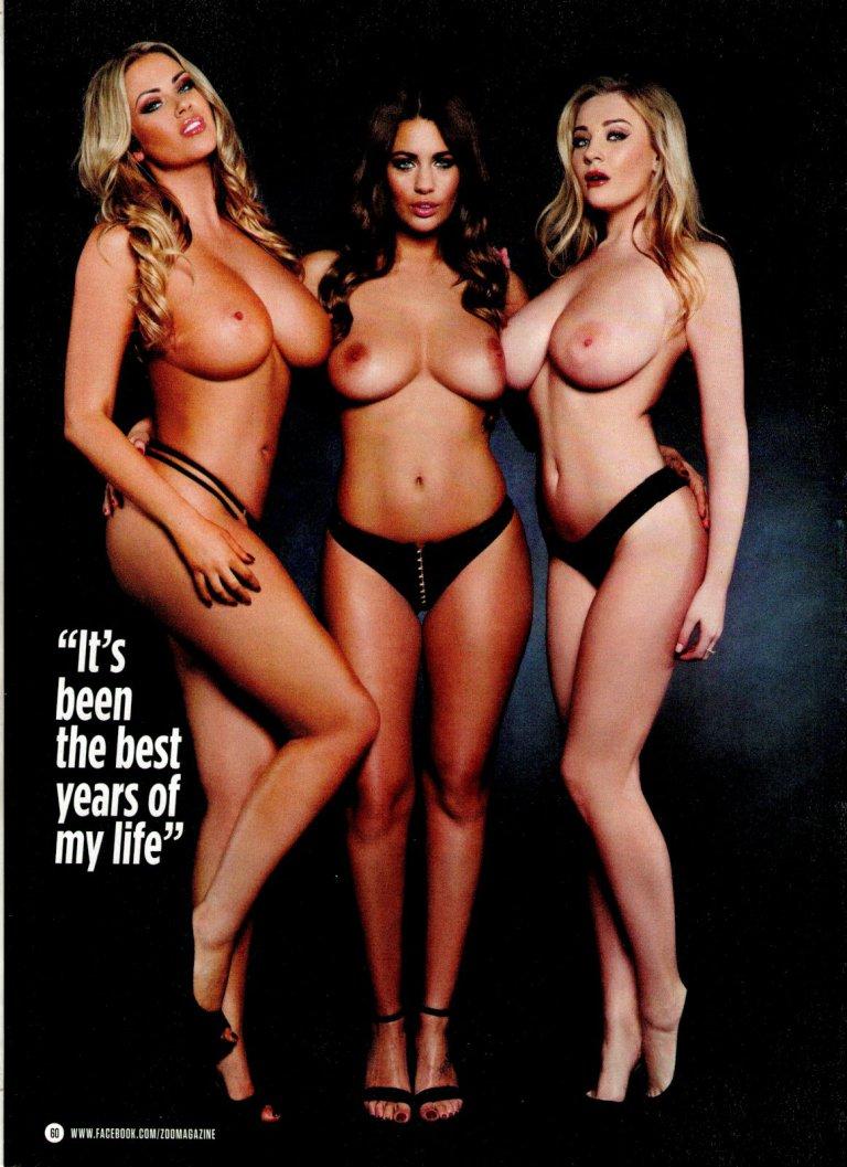 Rosie Jones & Friends - Zoo Magazine shoot