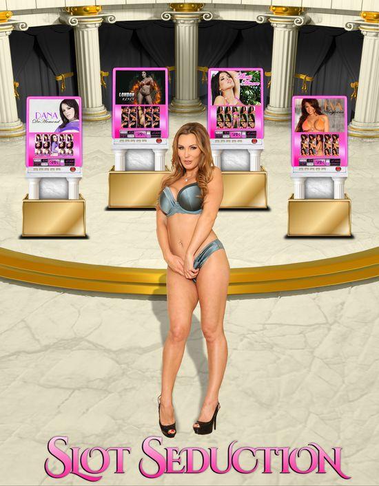 Slot Seduction, Tanya Tate, London Keyes, Dana DeArmond, Alexis Amore, Courtney Cummz
