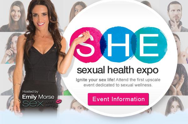 Sexual Health Expo, Dr. Emily Morse