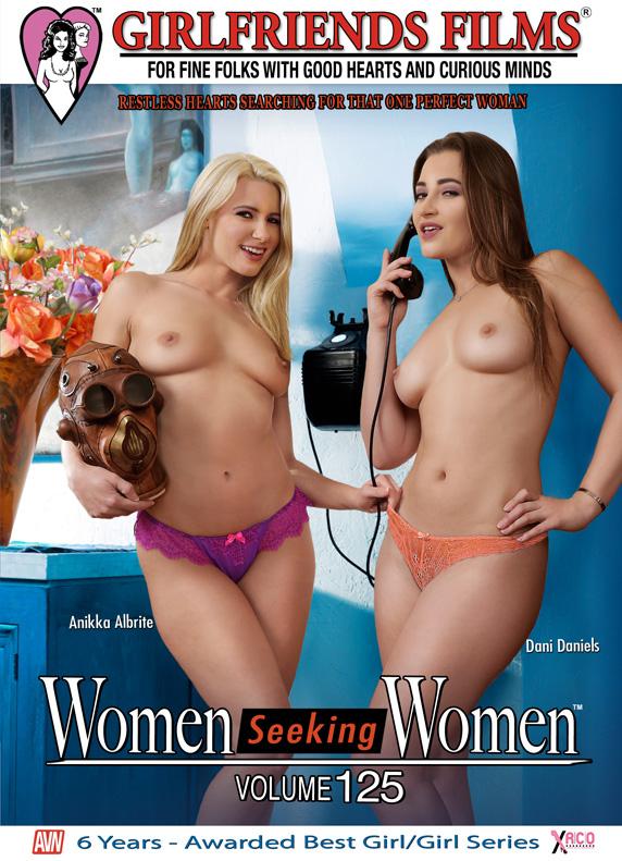 Girlfriends Films Women Seeking Women Vol. 125, Cindy Craves & Angie, Elle Alexandra & Phoenix Marie, Cherie DeVille & Hayden Night, Anikka Albrite & Dani Daniels.