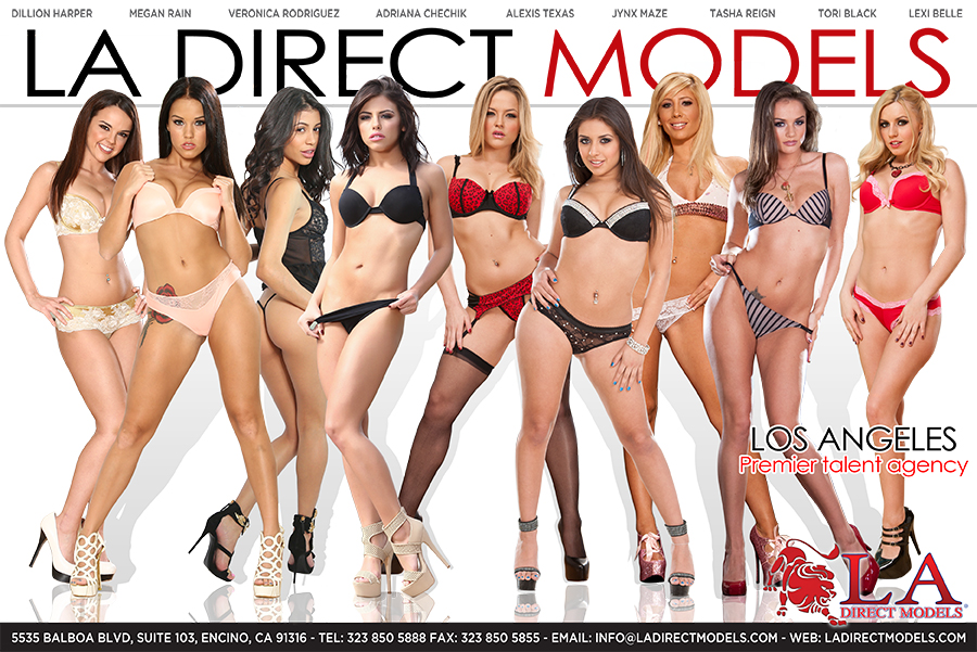 LA Direct Models, Tori Black, Lexi Belle, Tasha Reign, Dillion Harper, Megan Rain, Alexia Texas,