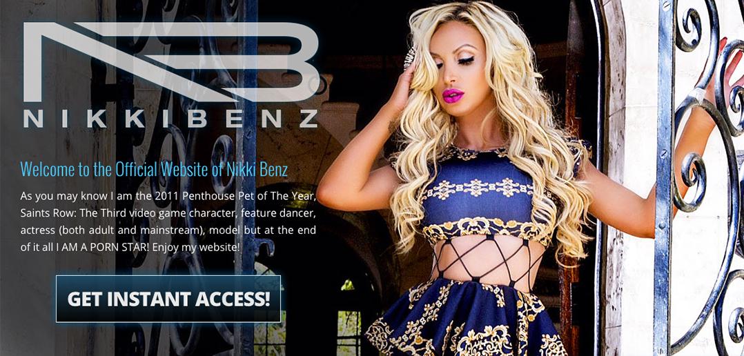 Nikki Benz official website launches