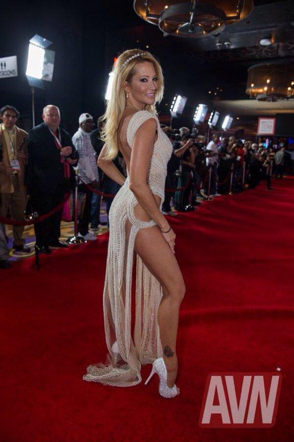 Porn star Jessica Drake at the 2016 AVN Awards