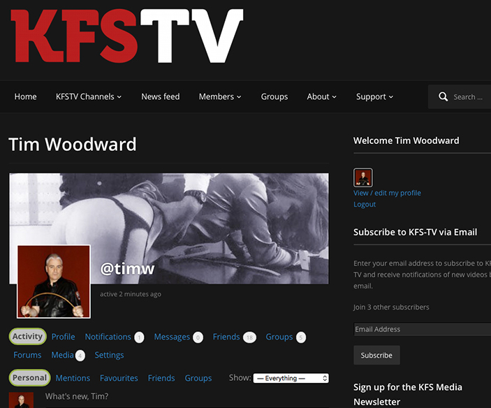 KFS TV - The new TV channel for the international fetish market