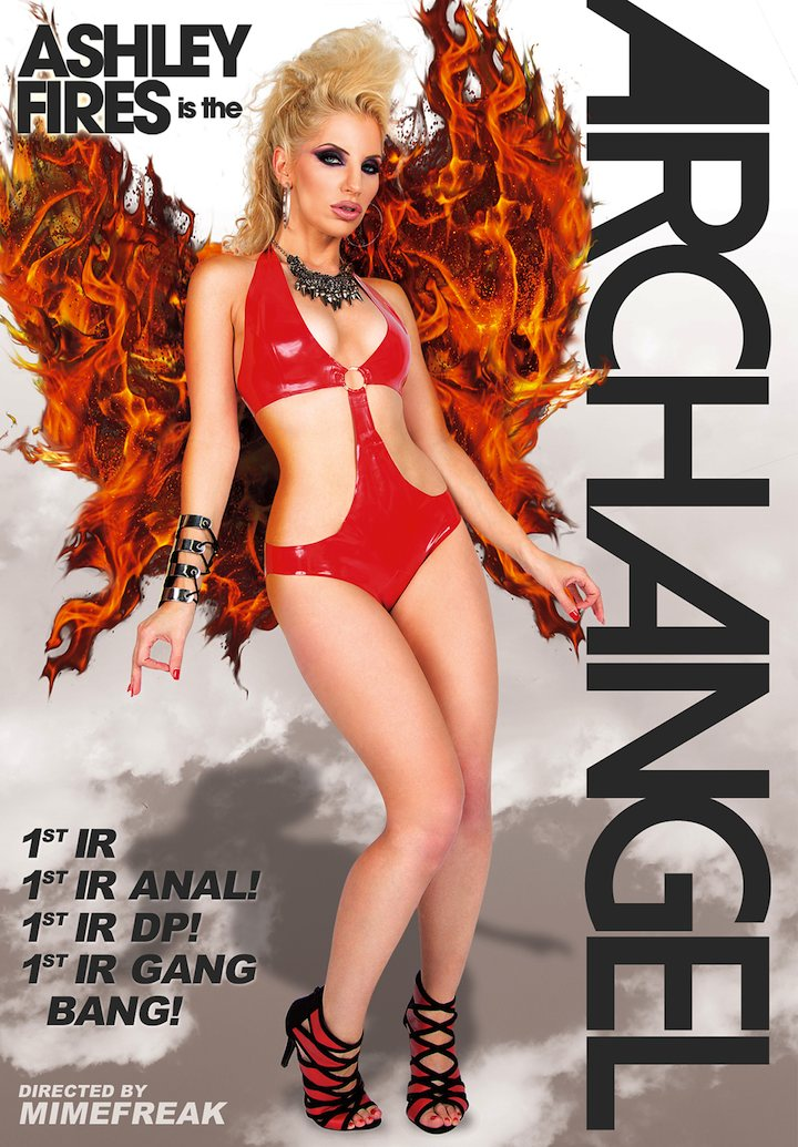 """Ashley Fires, """"Ashley Fires Is the ArchAngel"""""""