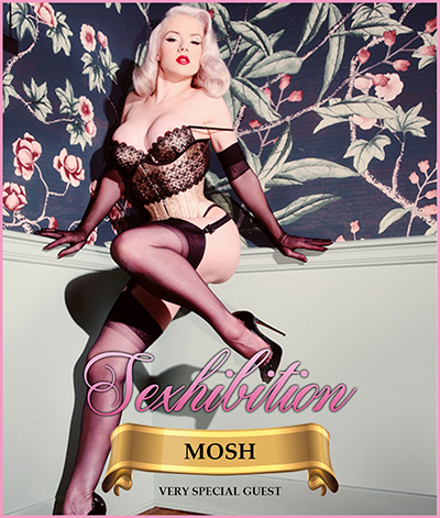 Sexhibition are delighted to welcome world famous pinup Mosh