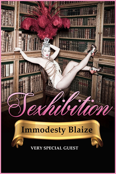 Sexhibition - An Audience With Immodesty Blaize