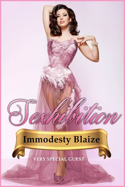 Sexhibition Presents: Immodesty Blaize
