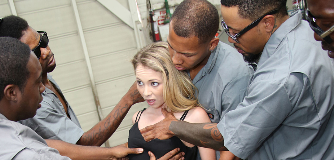 Angel Smalls first gangbang debuts