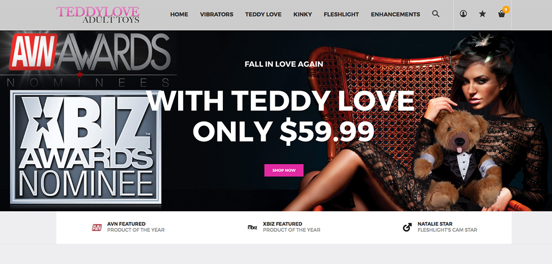 Teddy Love relaunches website