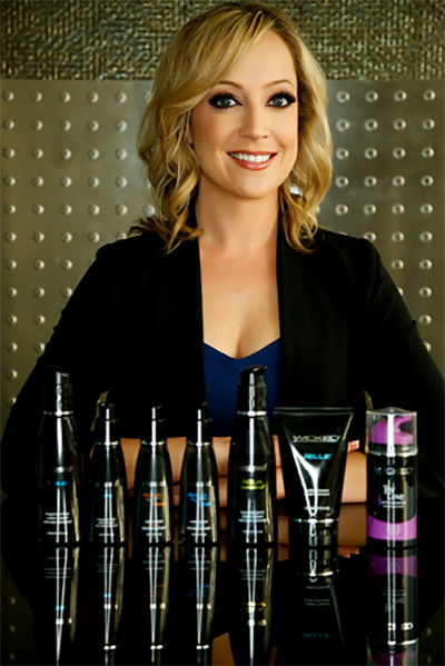 Wicked Sensual Care Sales and Marketing Director Cassie Pendleton