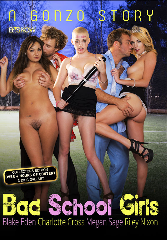 Director B. Skow 'A Gonzo Story: Bad School Girls' cover