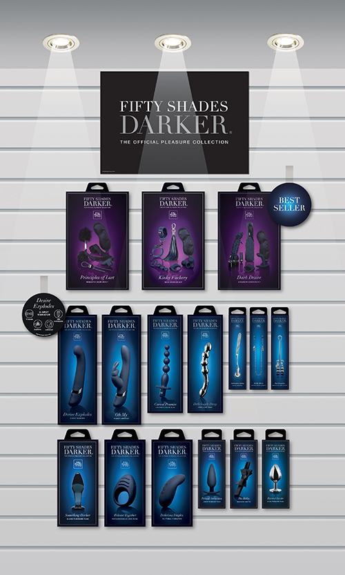 Lovehoney Fifty Shades Darker Point of Sale