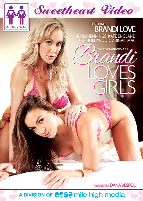 """Brandi Loves Girls"" cover, Mile High Media"