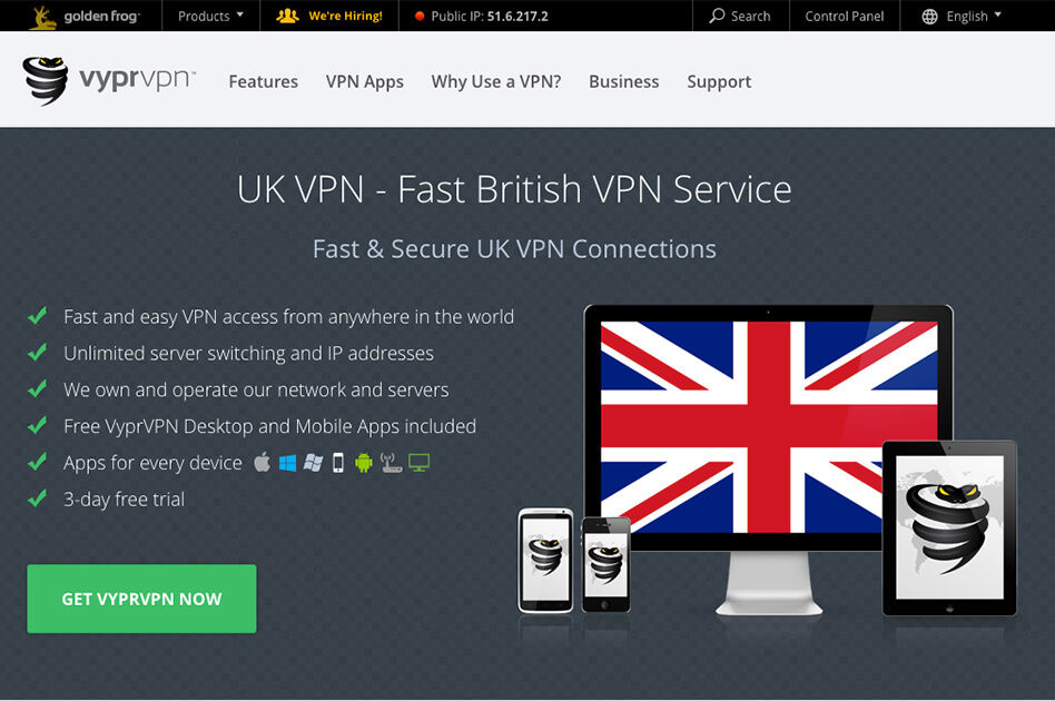 Find the Best VPN – VYPR VPN