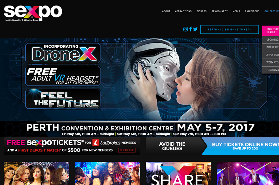 SEXPO® announces SEXPO® sexy cosplay debut
