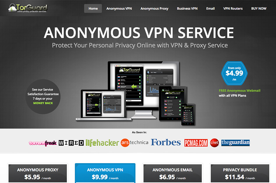 Find the Best VPN – Tor Guard VPN