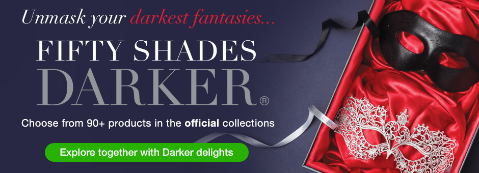 Lovehoney Fifty Shades Darker Sex Toys