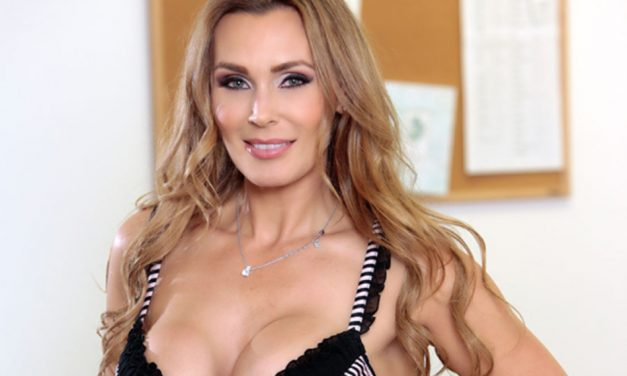 Tanya Tate featured on cover of S.L.A.M. Magazine
