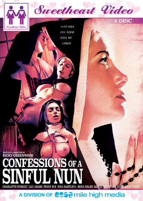 "Sweet Sinner "" Confessions Of A Sinful Nun"" DVD cover"