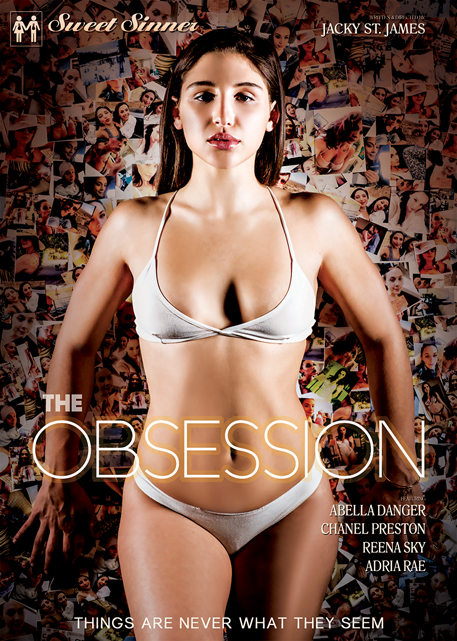 """The Obsession"" DVD cover from Sweet Sinner"