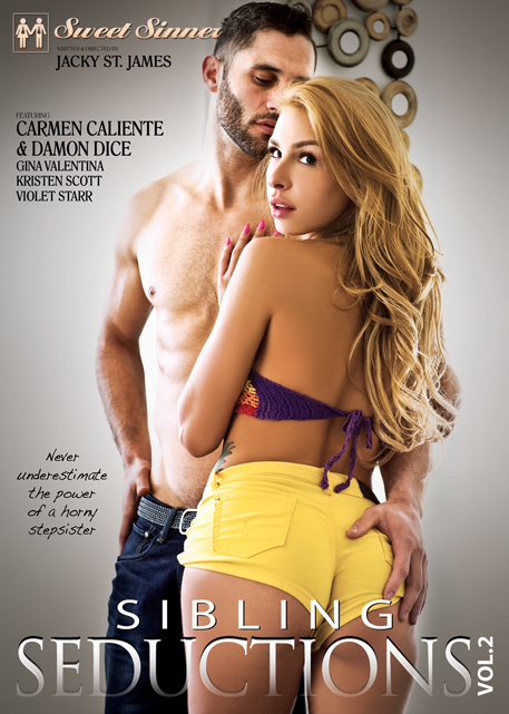 Sweet Sinners: Sibling Seductions 2 DVD cover