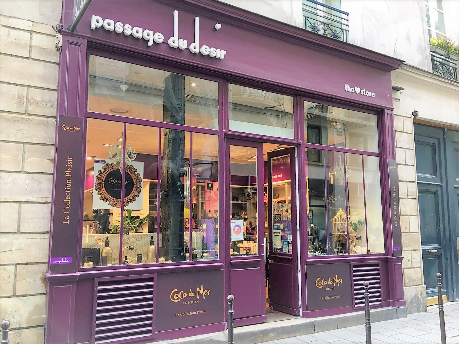 Coco de Mer Passage du Désire in Paris