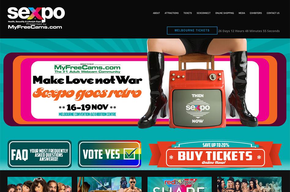 SEXPO goes retro in Melbourne