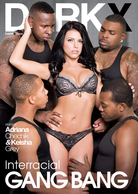 Award-winning director Mason captures Chechik's first interracial gang bang in the debut series.