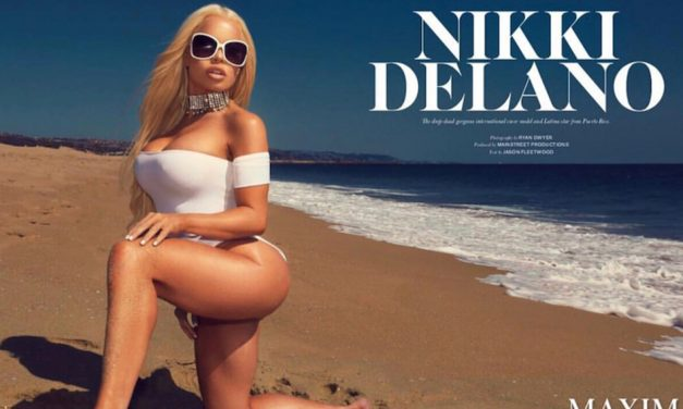 Nikki Delano gets spread in Maxim Magazine