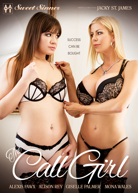 The Call Girl DVD cover from Sweet Sinner