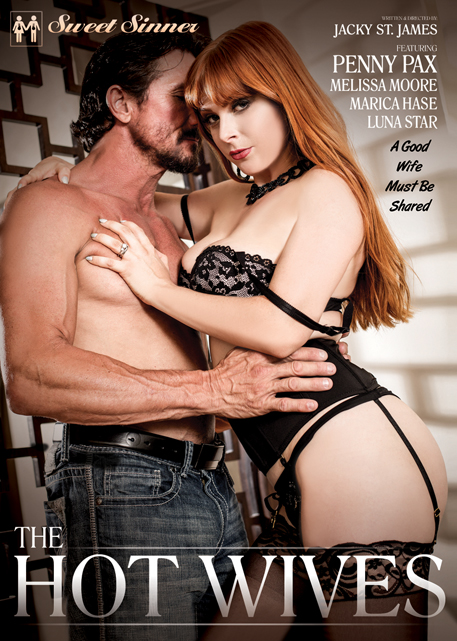 The Hot Wives DVD cover, leading couples' erotica studio Sweet Sinner