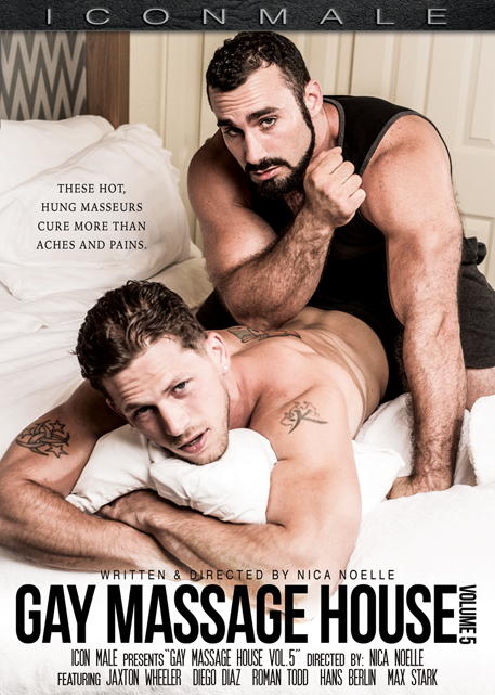 Icon Male 'Gay Massage House 5' DVD cover