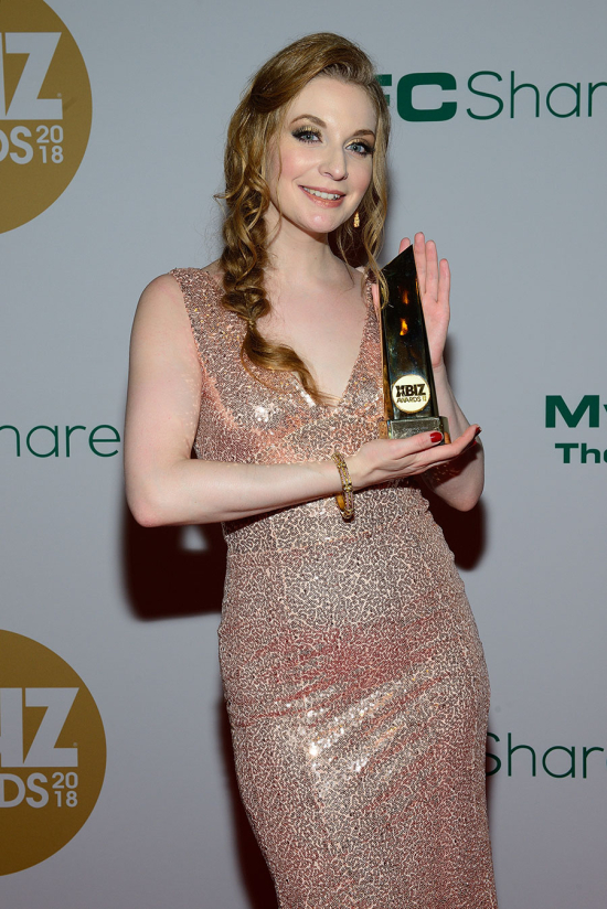 Ela Darling takes home the XBIZ Award for Crossover Star of the Year