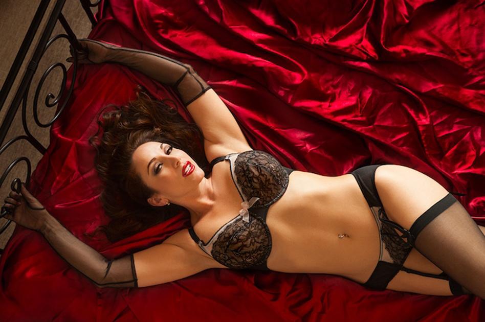 International fetish model and bondage video producer Jewell Marceau