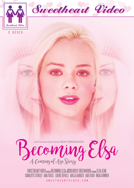 Becoming Elsa DVD cover from Sweetheart Video