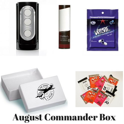 August Commander Box for Men