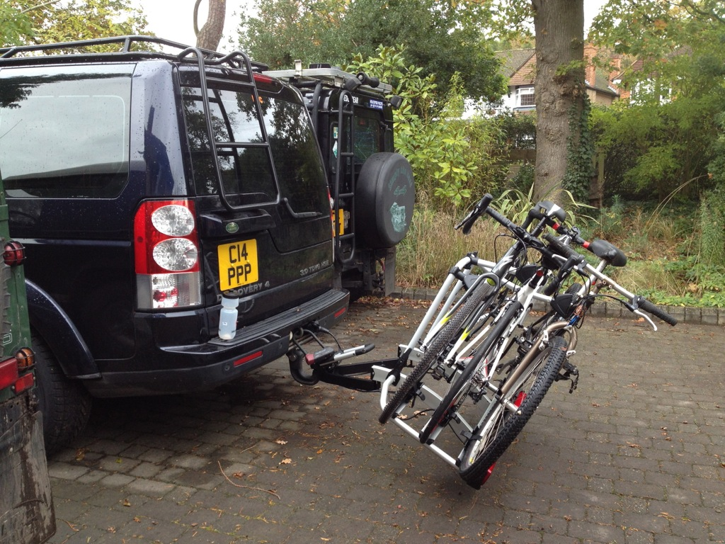 image bars on discovery landrover carrier amp itm s land rack bike is rail rover cycle thule roof loading