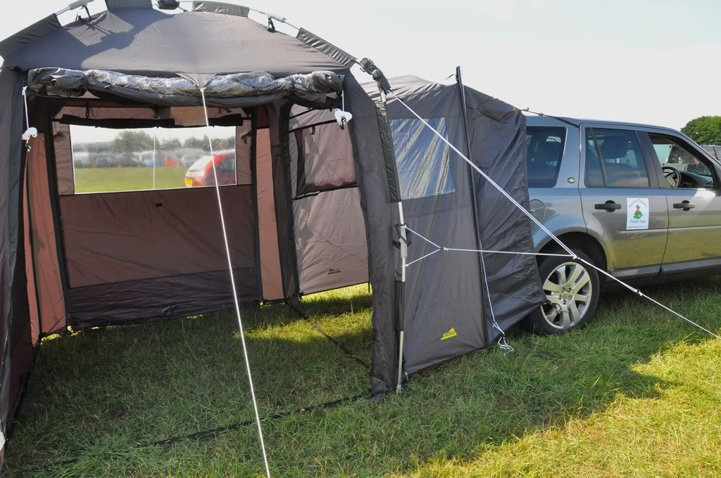 & Freel2.com - View topic - Freelander 2 Day tent and connecting tunnel